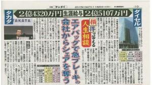 日刊現代20151120_抜粋ˆ