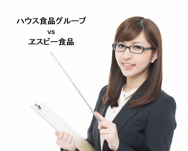 Thumbnail House Shokuhin vs SB Shokuhin
